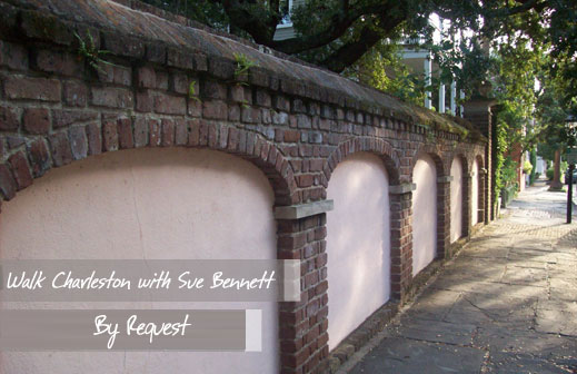 Walk Charleston with Sue Bennett